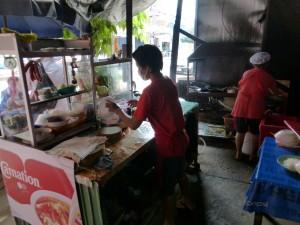 Eten klaar maken in Chaiyaphum